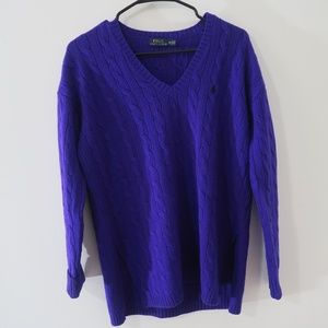Polo Ralph Lauren Knit Sweater with Slit